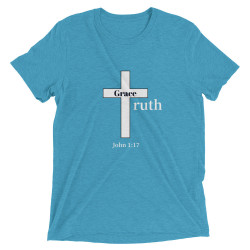 Grace & Truth T-shirt with Scripture