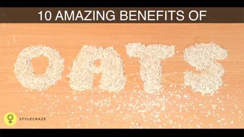 10 Benefits Of Oatmeal