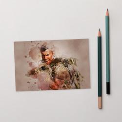 Sniper Beckett Creative Art Standard Postcard